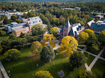 2017 Thompson Hall Fall Aerial