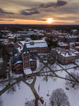UNH Durham Campus at Sunset